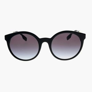Burberry Black Classic Round Sunglasses
